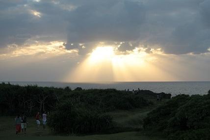 ミナクのブログ-夕陽
