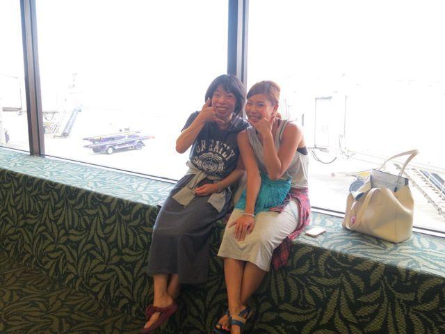 minakuのブログ-空港で